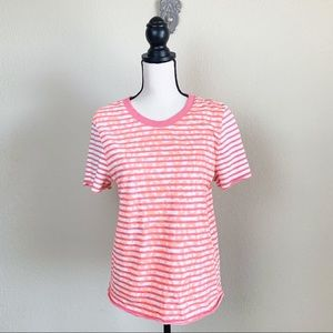 New GAP Dedigned & Crafted neon short sleeve top